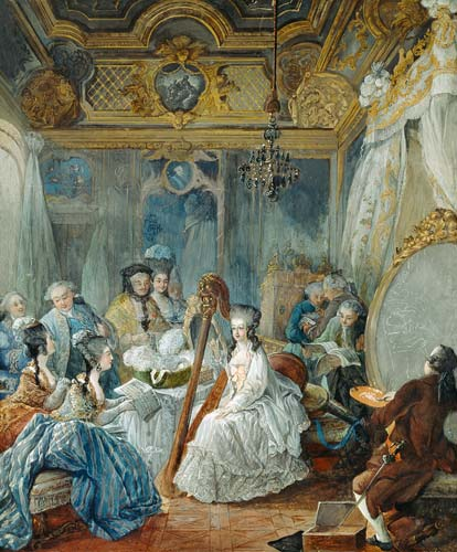 Artprint of  Marie Antoinette (1755-93)