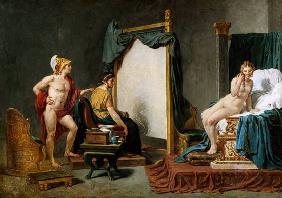 Apelles Painting Campaspe in the Presence of Alexander the Great (356-323 BC)