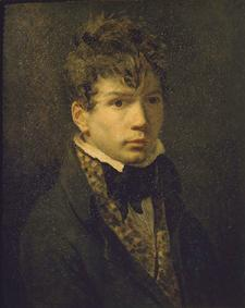 Portrait of a young man, probably a self-portrait of Ingres