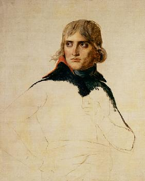 David, Jacques Louis : Unfinished portrait of Gen...