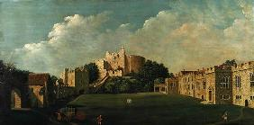 Arundel Castle Keep and Quadrangle, c.1770 (oil on canvas)