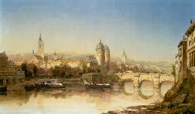Webb, James : A View of Heidelberg