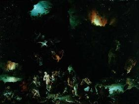 The Temptation of St. Anthony - Hell
