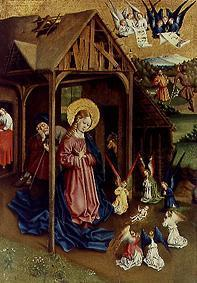 Maria and adoring angels, the Christ Child, panel of the Marienfelder altar