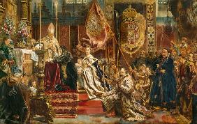 The vow of the king Johann II. Kasimir of Poland