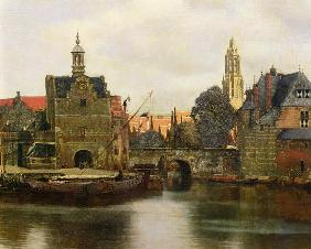 View of Delft around 1660-61 (detail)