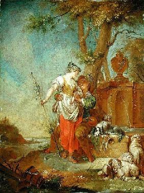 Zick januarius shepherd and shepherdess