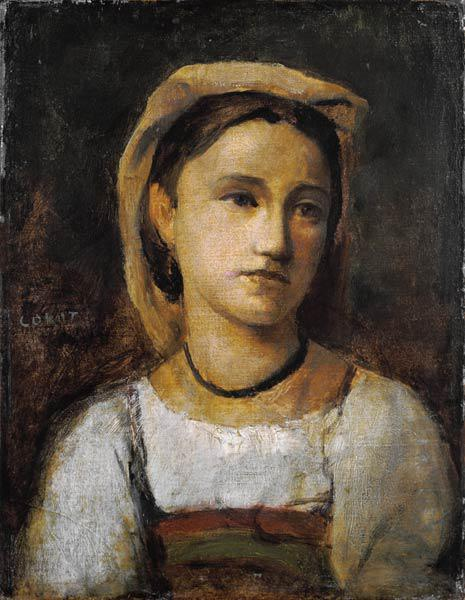 Portrait of an Italian girl.