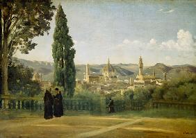 Florence, View at the Boboli Gardens