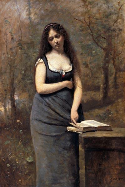 Print on Jean Baptiste Camille Corot   Velleda