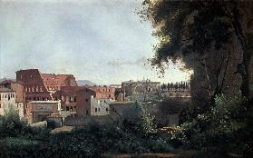 Colosseum from Farnesian Gardens / 1826