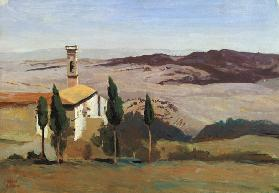 Volterra, Church and Bell Tower