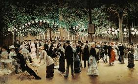 The ball in the park.