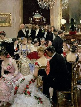 The Soiree, c.1880