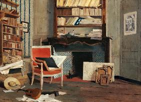 Interior of the Study of Doctor X