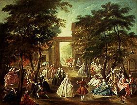 de Troy, Jean Fran�ois : Amusement in the garden
