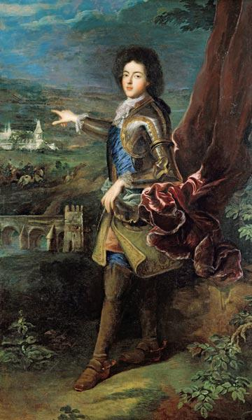 Portrait of Louis Auguste de Bourbon (1670-1736) Duke of Maine