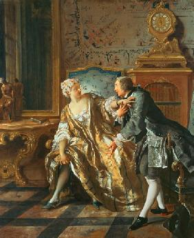 de Troy, Jean Fran�ois : The Garter