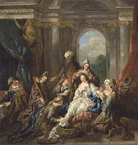 de Troy, Jean Fran�ois : The Toilet of Esther