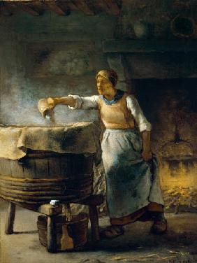 Millet, Jean-Fran�ois : The washerwoman.