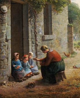 Millet, Jean-Fran�ois : Feeding the Young