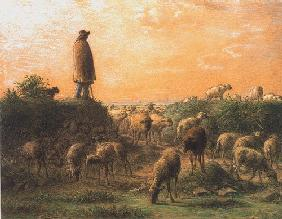 Millet, Jean-Fran�ois : The shepherd
