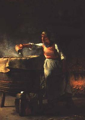 Millet, Jean-Fran�ois : The Washing Tub