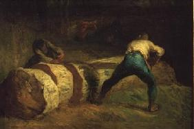 Millet, Jean-Fran�ois : The Wood Sawyers