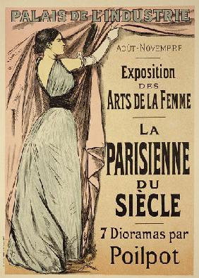 Forain, Jean Louis : Reproduction of a poster a...