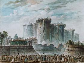 The Destruction of the Bastille, 14th July 1789