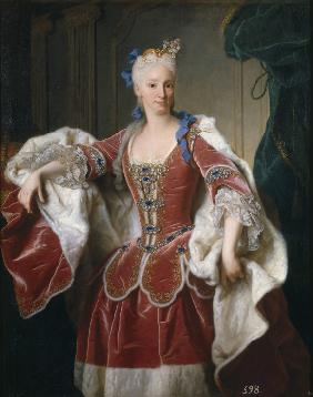 Portrait of Elisabeth Farnese, Queen consort of Spain