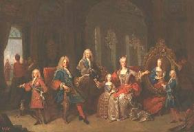 The Family of Philip V (1683-1746) of Bourbon