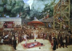 The Fair at Saint-Cloud