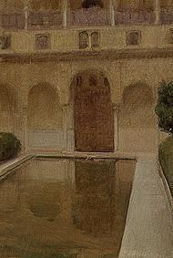 Patio de of La Alberca, Granada.