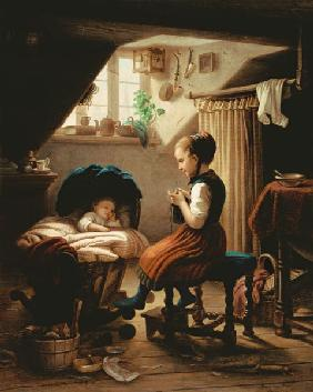 Meyer von Bremen, Johann Georg : Tending the Little Ones