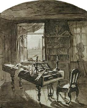 Beethoven's Room at the Time of his Death