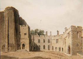 The Inner Court of Berkeley Castle, Gloucestershire, looking North-East