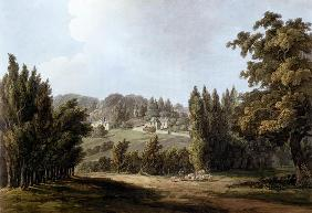 'The Hermitage' at Montmorency, 1809 (colour litho)