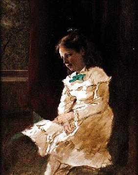 A Young Girl by the Window