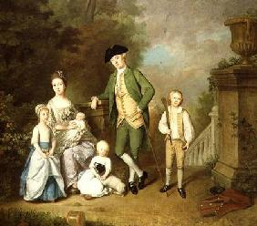 Portrait of the Wallace Family