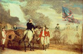The Surrender of Cornwallis at Yorktown