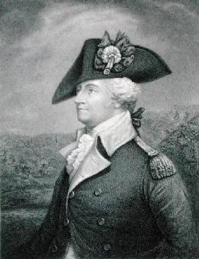 Brigadier General Anthony Wayne (1745-96) engraved by John Francis Eugene Prud'Homme (1800-92) after