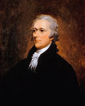 Alexander Hamilton (1755-1804) c.1806 (oil on canvas)