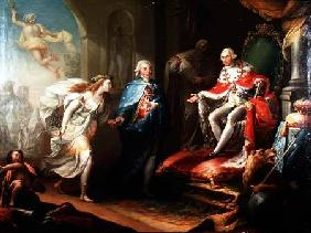 Godoy Presenting Peace to Charles IV