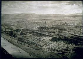 View of Vienna at the time of the World Exhibition