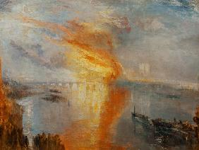 The Burning of the Houses of Parliament (October 16th, 1834)