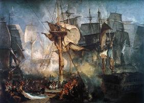 Turner, William : Battle of Trafalgar