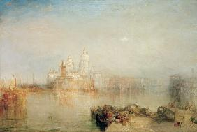 Turner, William : Dogana and Santa Maria del...