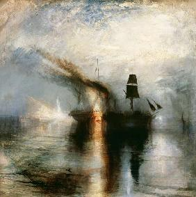 Turner, William : Peace burial at sea