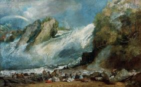 Turner, William : Rheinfall at Schaffhausen